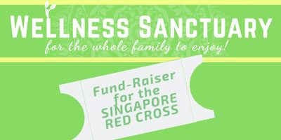 Wellness Sanctuary Charity Fund Raising for The Singapore Red Cross