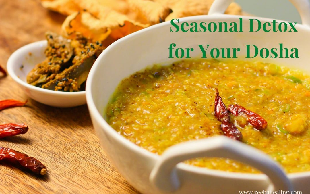 Seasonal Detox (Ritucharya) for the Autumn